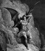 Gustave Dore's depiction of Satan from John Milton's Paradise Lost